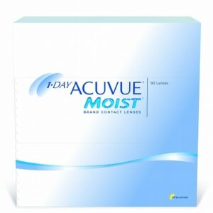 1-Day Acuvue Moist 90 Pk 1-Day Acuvue Moist 90 pack - 1.0 Box