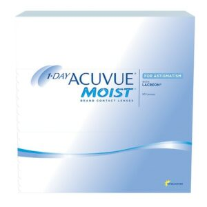 1-Day Acuvue Moist For Astigmatism 90 Pk 1-Day Acuvue Moist For Astigmatism 90 pack - 1.0 Box