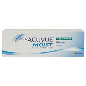 1-Day Acuvue Moist Multifocal 30PK Contact Lenses