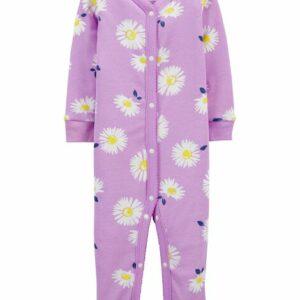 1-Piece Daisy 100% Snug Fit Cotton Footless PJs