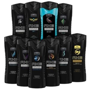 10-pack Axe Shower Gel Assorted Scents