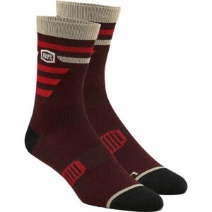 100% Advocate Performance Socks - L/XL/XXL - Brick
