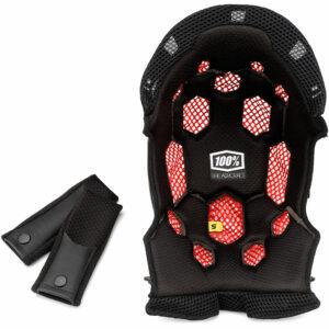100% Aircraft Comfort Liner Kit - Black