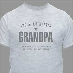 100 Authentic Personalized T-Shirt for Him