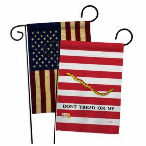 1st. U.S. Navy Jack Americana Historic Garden Flags Pack