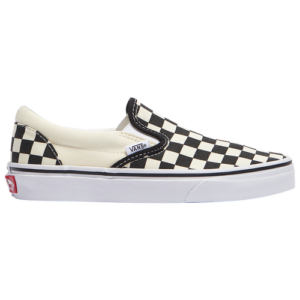 20th Century Fox Boys Vans Classic Slip On - Boys' Grade School Shoes Black/True White Size 07.0
