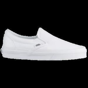 20th Century Fox Boys Vans Classic Slip On - Boys' Grade School Shoes True White/White Size 05.0