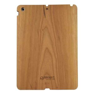 3D Knight Real Wood Protector Case for Apple iPad Air (Cherry Wood with Black Polycarbonate)