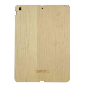 3D Knight Real Wood Protector Case for Apple iPad Air (Maple Wood with Black Polycarbonate)