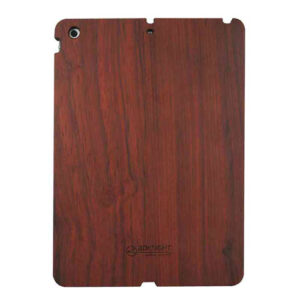 3D Knight Real Wood Protector Case for Apple iPad Air (Rosewood with Black Polycarbonate)