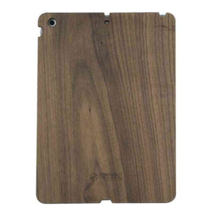 3D Knight Real Wood Protector Case for Apple iPad Air (Walnut Wood with Black Polycarbonate)