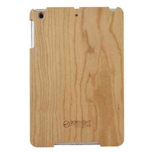 3D Knight Real Wood Protector Case for Apple iPad Mini (Maple Wood/Mix Wood with Black Polycarbonate)