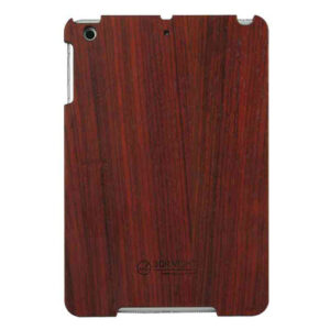 3D Knight Real Wood Protector Case for Apple iPad Mini (Rosewood with Black Polycarbonate)
