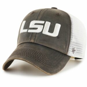 '47 Louisiana State University Oil Cloth Clean Up Cap Brown/Natural - NCAA Men's Caps at Academy Sports