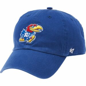 '47 Men's University of Kansas Clean Up Cap Blue - NCAA Men's Caps at Academy Sports
