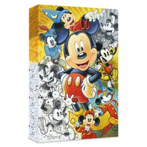 ''90 Years of Mickey Mouse'' Gicle on Canvas by Tim Rogerson Limited Edition Official shopDisney