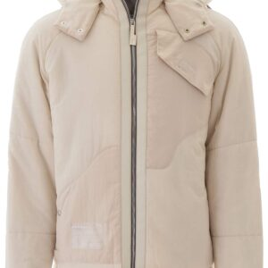 A COLD WALL DISSECTION PUFFER JACKET M Beige Technical