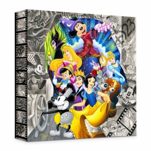 ''A Colorful Mind'' Gicle on Canvas by Tim Rogerson Official shopDisney