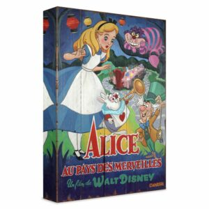 ''A Date with Wonderland'' Gicle on Canvas by Trevor Carlton Limited Edition Official shopDisney