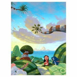 ''A Tropical Idea'' Gallery Wrapped Canvas by Michael Provenza Limited Edition Official shopDisney