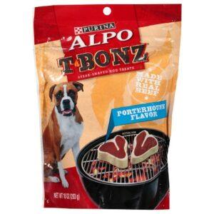 Alpo T-Bonz Steak Dog Treats Porterhouse - 10.0 oz