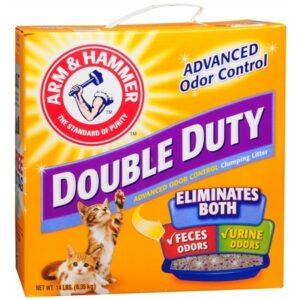 Arm & Hammer Double Duty Clumping Cat Litter - 14.0 lb