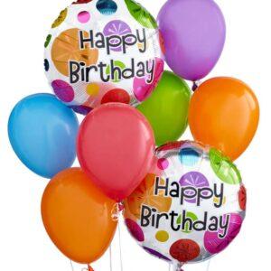 Balloons - Colorful Birthday Balloon Bouquet - Regular