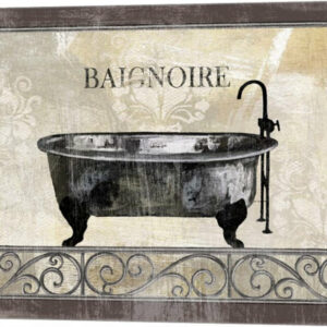 """Bath Silhouette I"" Canvas Wall Art by NBL Studio, 15""x12"""