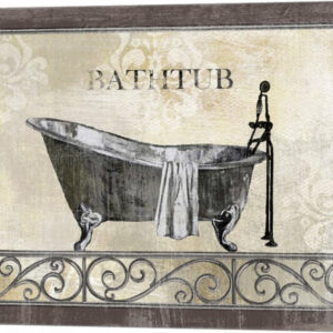 """Bath Silhouette II"" Canvas Wall Art by NBL Studio, 15""x12"""