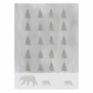 """Bear Trees"" by Erin Clark, Canvas Art, 32""x24"""