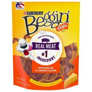 Beggin Strips Dog Treats Bacon & Cheese - 6.0 oz