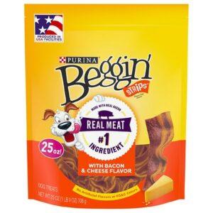 Beggin Strips Dog Treats Bacon and Cheese - 25.0 oz