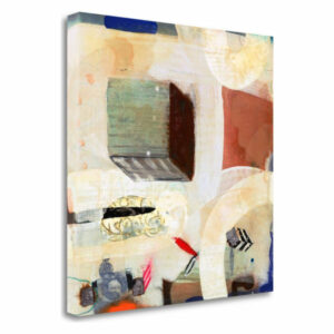 """Brain Freeze 3"" by Aleah Koury, Fine Art Giclee Print On Gallery Wrap"
