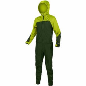 Endura SingleTrack One Piece MTB Suit 2020 - XL - Lime Green