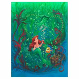 """""""Forever in My Heart"""" Gallery Wrapped Canvas by Michael Humphries Limited Edition Official shopDisney"""