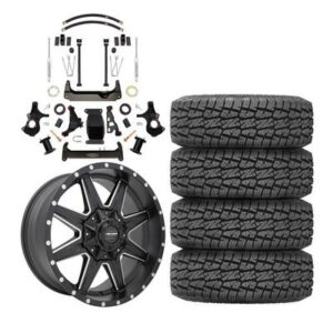 "Genuine Packages Pro Comp 6"" Lift Kit with Pro Comp 48 Series Quick 8 Wheels and Pro Comp A/T Sport Tires - GM1500ALUMPKG3"