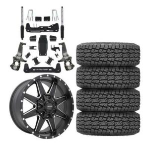 "Genuine Packages Pro Comp 6"" Lift Kit with Pro Comp 48 Series Quick 8 Wheels and Pro Comp A/T Sport Tires - GM20191500PKG3"
