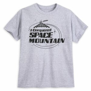 ''I Conquered Space Mountain'' T-Shirt for Kids Official shopDisney
