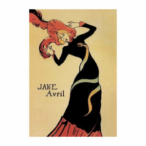 """Jane Avril - Gallery Wrapped Canvas Art 28"""" x 42"""""""