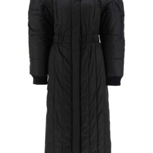 MARINE SERRE LONG DOWN JACKET S Black