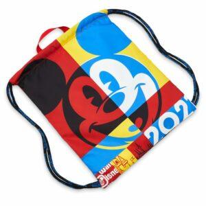 Mickey Mouse Cinch Sack Tote Walt Disney World 2021