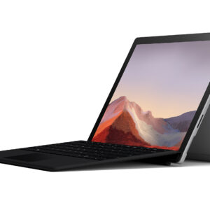 "Microsoft Surface Pro 7 12.3"" 128GB i5 Platinum Tablet Computer Bundle"