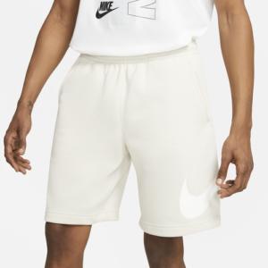 Nike Mens Nike Club Fleece Shorts - Mens Bone White Size M