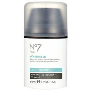 No7 Men Sensitive Moisturizer - 1.69 fl oz