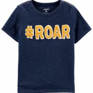 #Roar Snow Yarn Tee