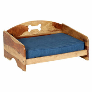 """Rustic"" Pet Bed with Orthopedic Foam Mattress, Small"