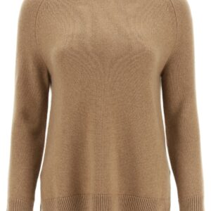 'S MAX MARA GINEVRA SWEATER IN WOOL AND CASHMERE XS Brown Wool, Cashmere