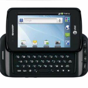 Sharp FX Plus ADS1 Unlocked GSM Android Slider Cellphone (Black) - PSR400003