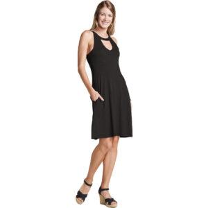 Toad & Co Avalon Dress - Women's Black Xs