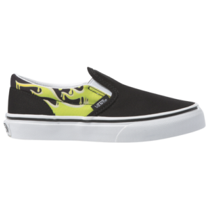 20th Century Fox Boys Vans Classic Slip On - Boys' Grade School Shoes Black/Green Slime Size 05.5